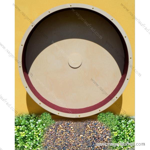 Holz - Katzenlaufrad Art.Nr.KLR 145  136 inkl.Wandbefestigung.