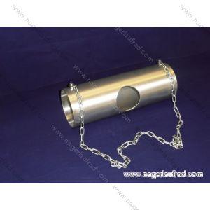 Rohrversteck Art.Nr.RV  100  108 Kette und 7,00 cm Loch